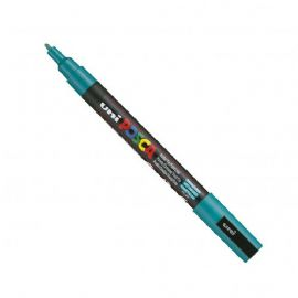Posca - PC-3M Fine Bullet Tip - Water Based Paint Marker - Emerald Green